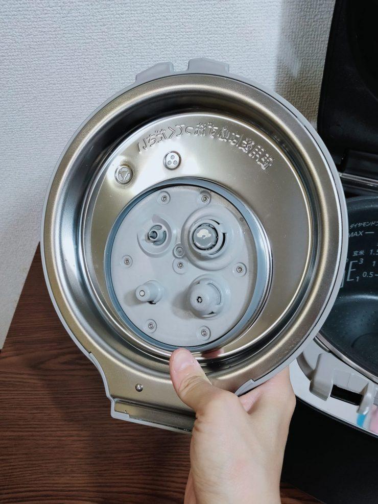 SR-VSX101加熱板裏